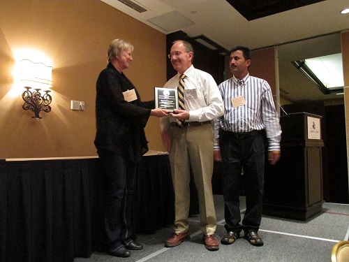 Donald Barnard wins 2014 FES Entomologist of the year award