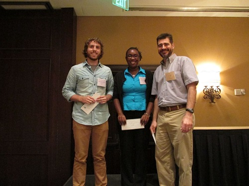 Winners of the 2014 MS student paper contest