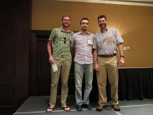 Winners of the 2014 PhD student paper contest