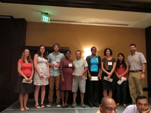 Winners of the FES 2014 travelgrants